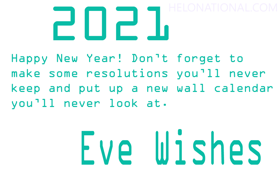 Happy New Year eve funny wishes