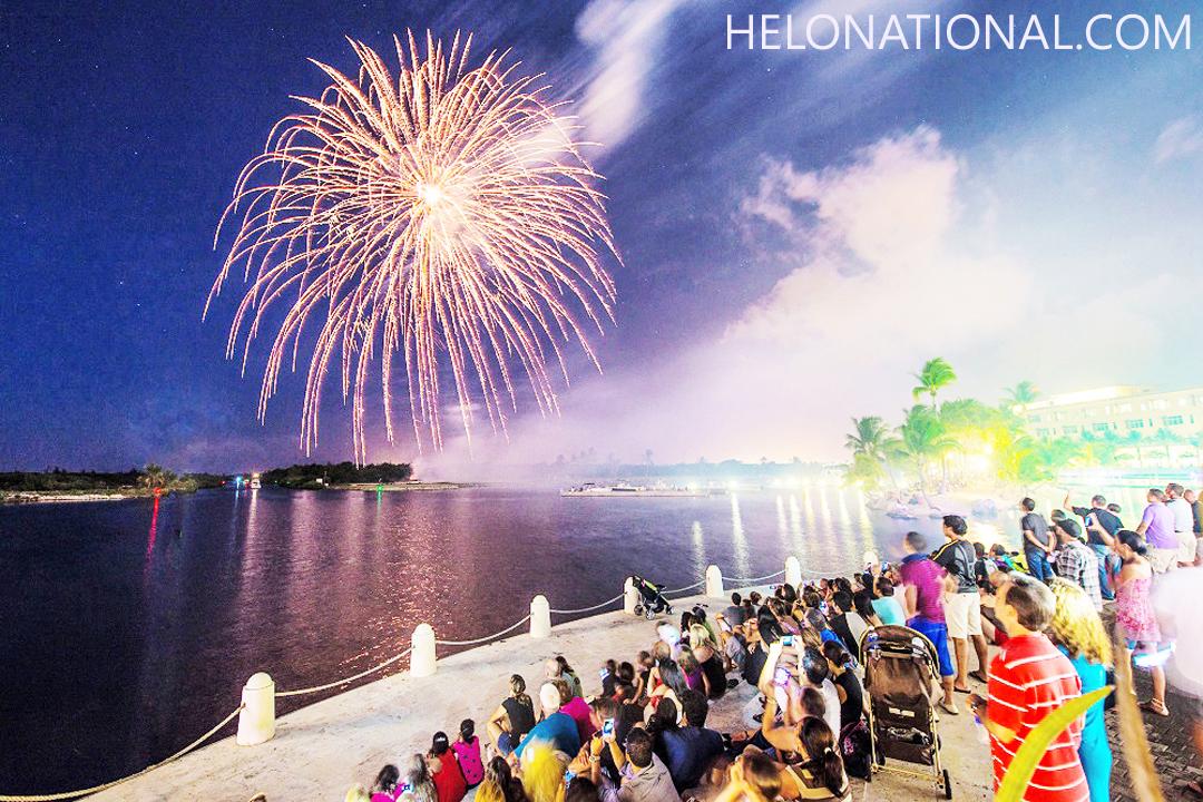 Happy New Year fireworks 2021
