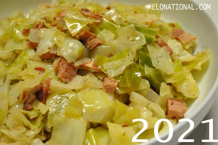 New Year 2021 Food Cabbage