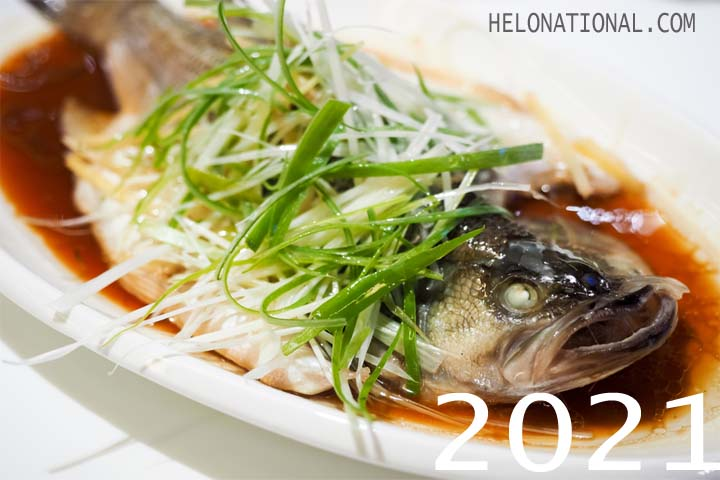 New Year 2021 Food Fish