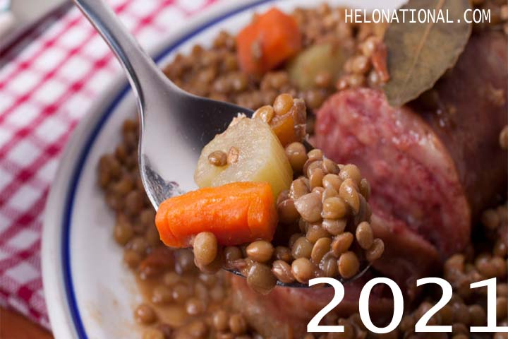 New Year 2021 Food Lentils