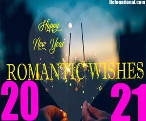 New Year 2021 Romantic wishes