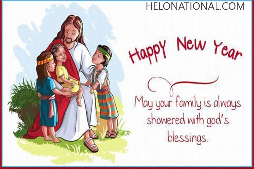 New Year Jesus Wishes