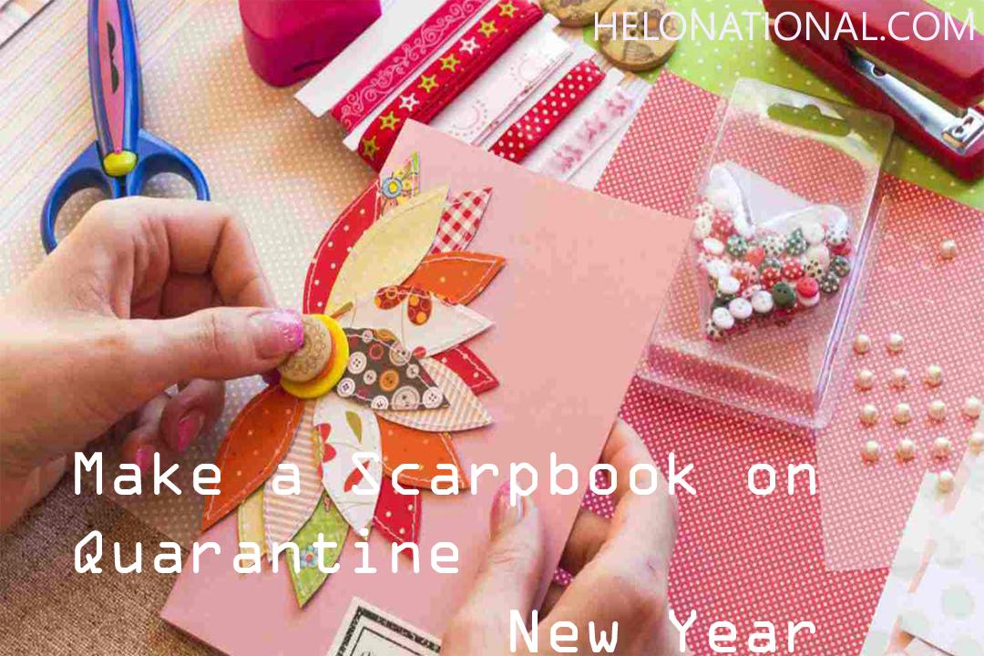 New Year scrapbook