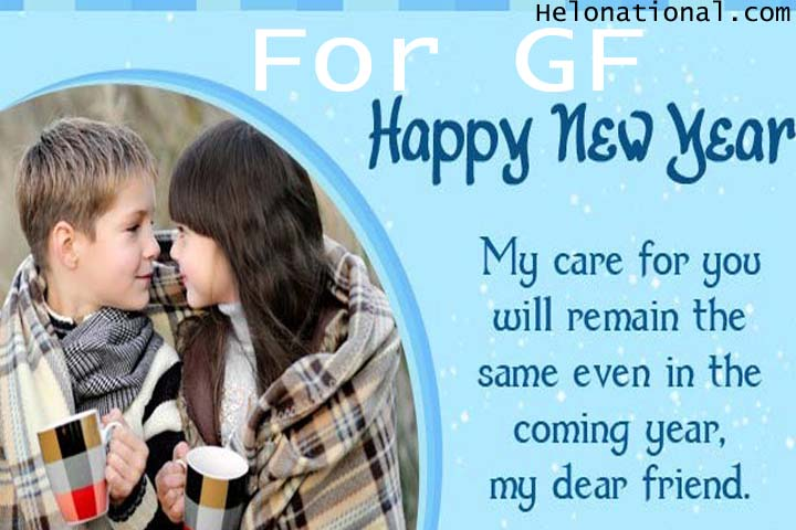 Happy new year 2021 SMS gf