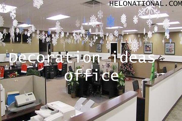 New year decoration 2021 ideas for office
