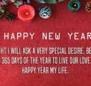 Beautiful new year wishes for husband