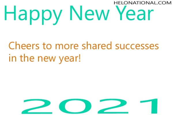 Best 2021 new year wishes