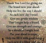 Best new year wishes and prayers