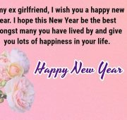 Best new year wishes for ex girlfriend