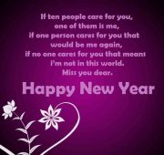 Cute new year wishes for girlfriend