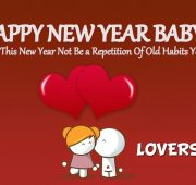 Cute new year wishes for husband