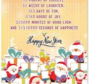 Funny new year wishes for couple