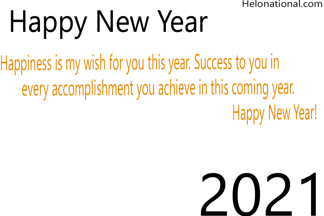 Happy New Year 2021 Holiday quotes and wishes