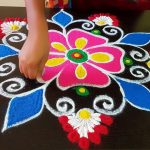 Happy New Year Rangoli 2021 | New Year 2021 Kolam