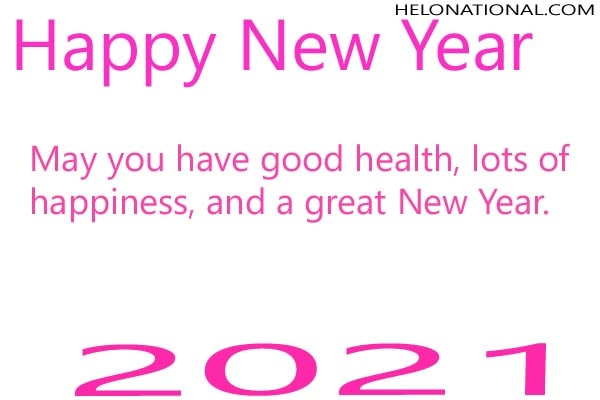 Happy New Year 2021 best quotes