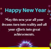 Happy new year wishes all family