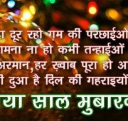 Happy new year wishes family in hindi