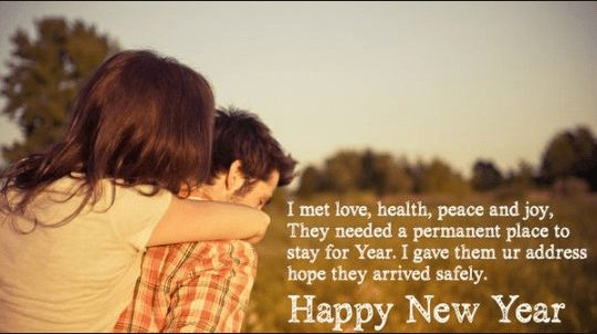 Heart touching new year wishes for wife