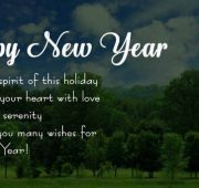 Inspirational new year greetings 2021