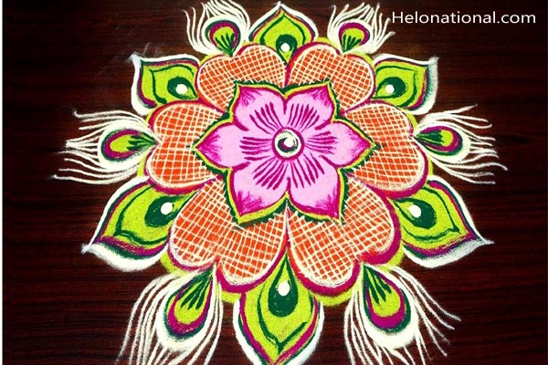 New Year Kolam Designs