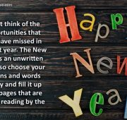 New Year Wishes student