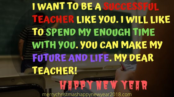 New academic year wishes for students