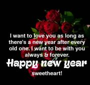 New year 2021 wishes for couple