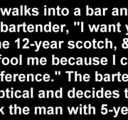 New year bartender jokes