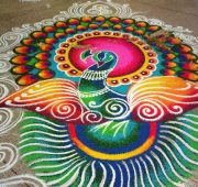 New year big rangoli kolam-min