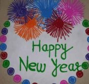 New year rangoli designs 2021-min