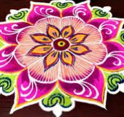 New year rangoli kolam 2020-min