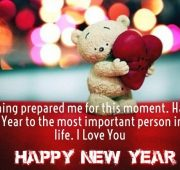 New year wishes about love