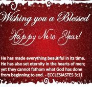 New year wishes and prayers 2021