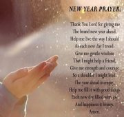 New year wishes and prayers for my love