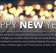 New year wishes bible verse