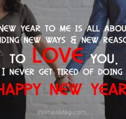 New year wishes boyfriend