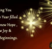 New year wishes captions