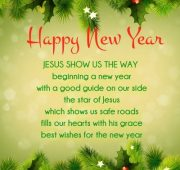 New year wishes christian