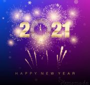 New year wishes design