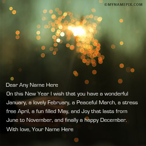 New year wishes different style