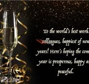 New year wishes email to colleagues 2021
