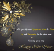 New year wishes family and friends
