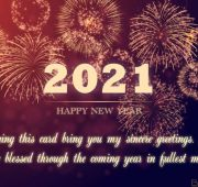 New year wishes for 2021