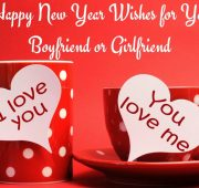 New year wishes for a girlfriend