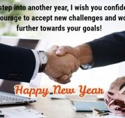 New year wishes for business partner and client