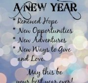 New year wishes for engaged couple