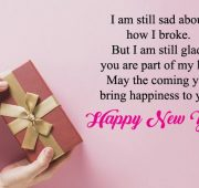 New year wishes for ex-girlfriend