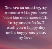 New year wishes for love 2021