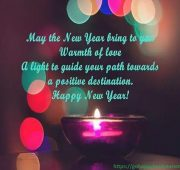 New year wishes for newly wed couple